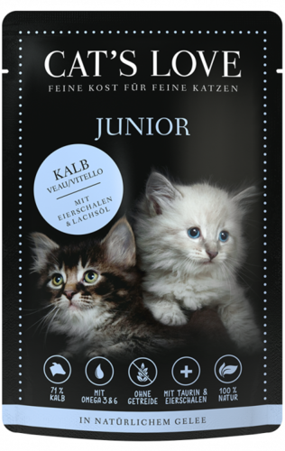 Junior Kalb Pur | Kittenfutter