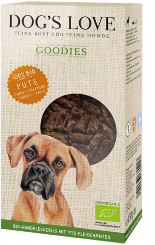 Goodies Bio Pute | Bio Hundesnacks 150 gr.