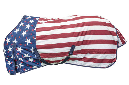 Outdoor-Decke 300 gr. Wasserdicht US Flagge Stars and Stripes