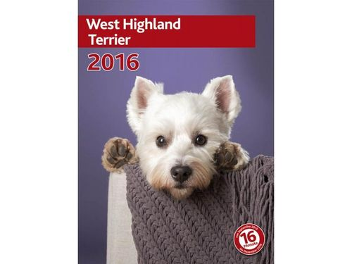 Kalender West Highland Terrier 2018