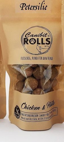 CANIBIT Rolls 125g mit Petersilie